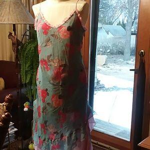 Express silk summer dress